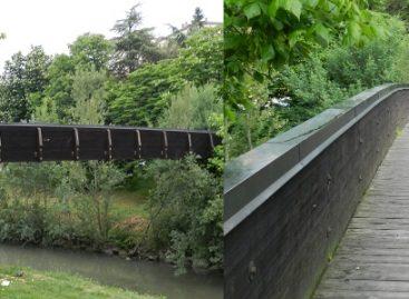 E' forse il ponte sul fiume Uso in località Camerano?