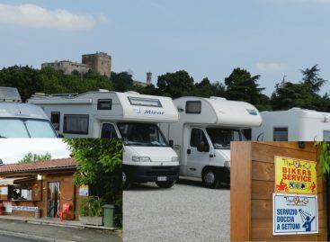Santarcangelo: parco camper