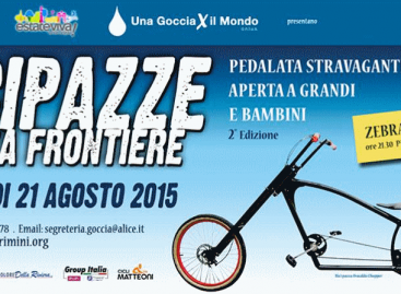 """Santarcangelo: venerdì 21 agosto alle ore 21:00 arrivo in Piazza Ganganelli della 2° edizione di """"Bici Pazze"""""""