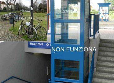 Treni e Stazione Ferroviaria di Santarcangelo: VERGOGNA !