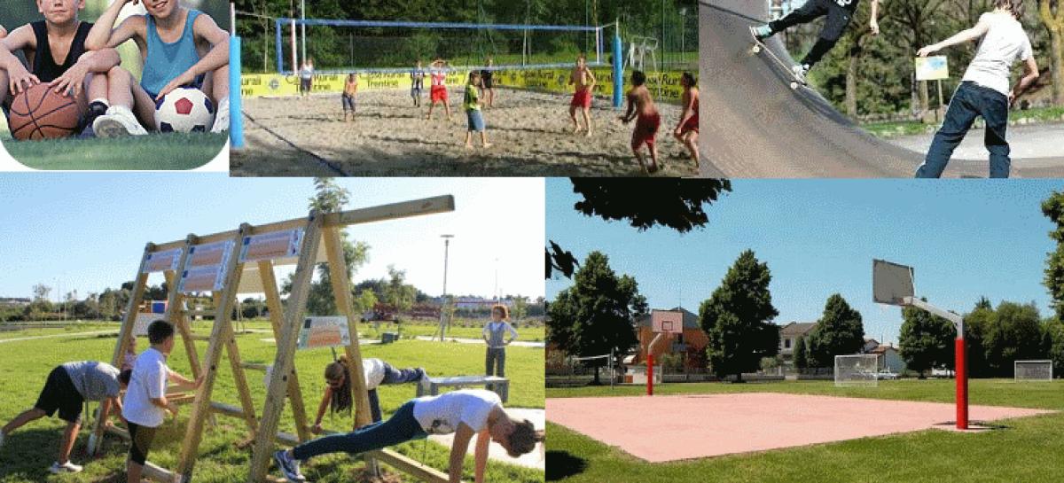 Un parco dello sport e della salute nel centro di Santarcangelo