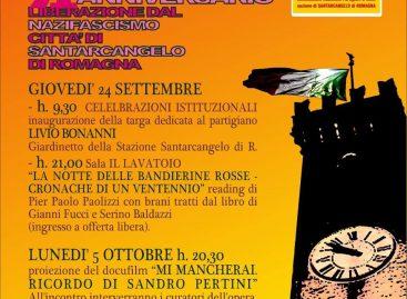71° ANNIVERSARIO DELLA LIBERAZIONE DI SANTARCANGELO DI ROMAGNA