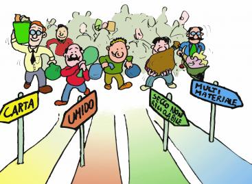 La maggiore raccolta differenziata dei rifiuti è merito del comune o dei cittadini?