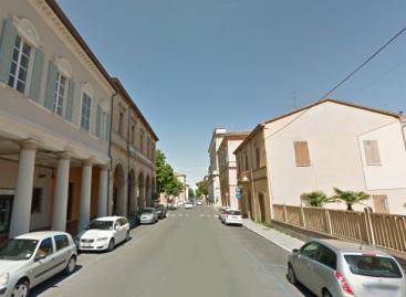 Santarcangelo: pista ciclabile in centro