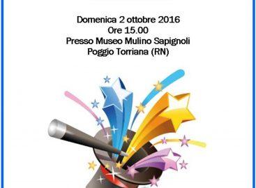 Macina . . . magie al Mulino Sapignoli di Santo Marino, domenica 2 ottobre dalle ore 15:00