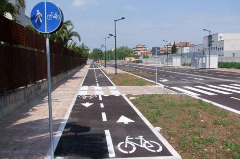 Santarcangelo: pista ciclabile Santa Giustina – Stazione F.S.